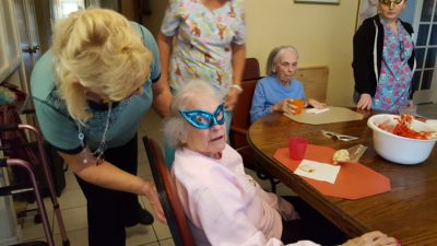 More activities for seniors